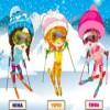 Three Snow Lovers